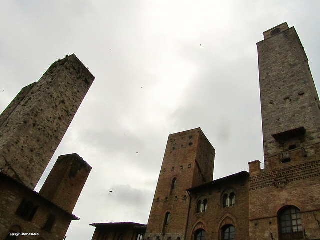 """Towers of San Gimignano, the New York of the Middle Ages"""
