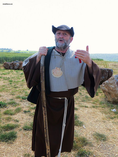 """our guide for the Via Francigena in Monteriggioni"""