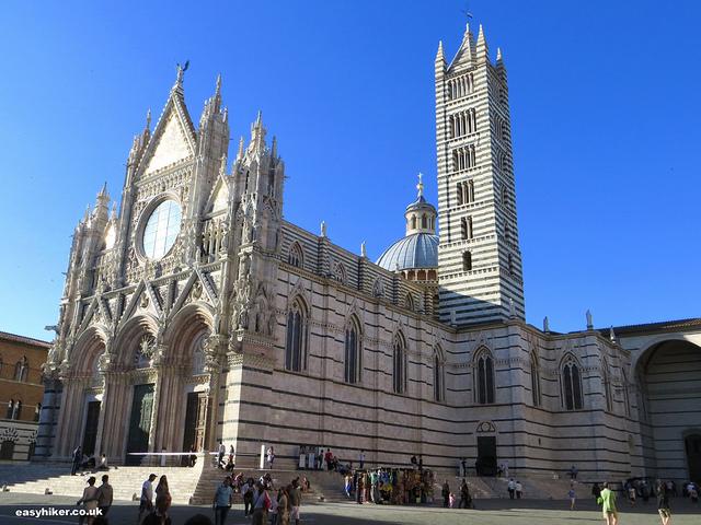 """The Duomo in Siena"""