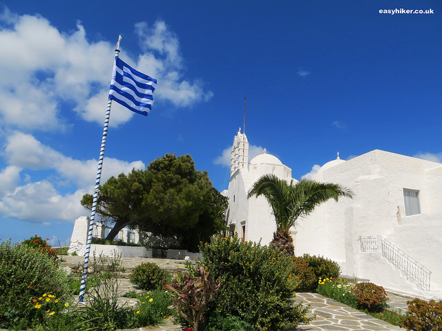 """St Anthony's monastery in Paros"""