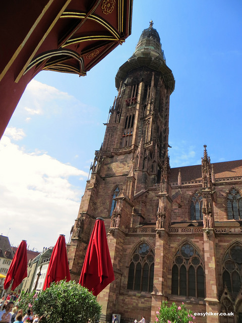 """Freiburg Cathedral in Germany"""