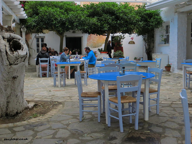 """A taverna in Parikia in Paros"""