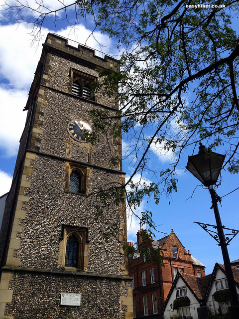 """Curfew Tower in St Albans - different layers of British history"""