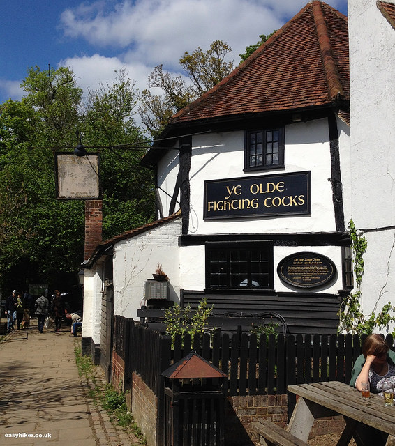 """Ye Olde Fighting Cocks - one of oldest British pub around"""