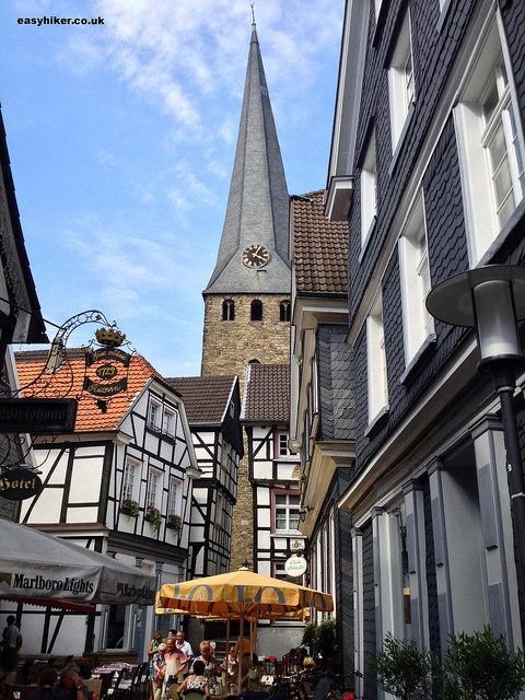 """Hattingen Mitte street scene"""