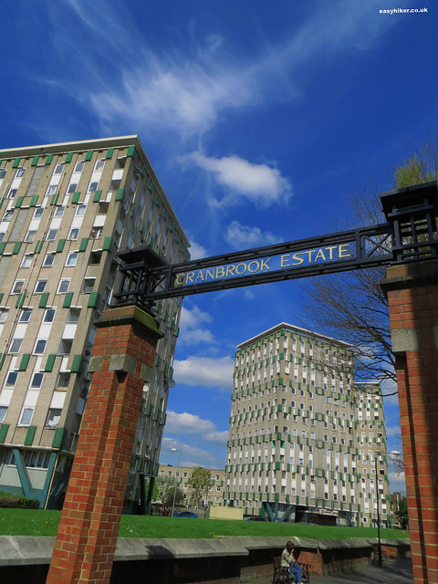 """Cranbrook Estate - start of modernist architecture in London"""