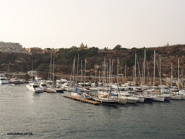"""Gozo: First impressions from its harbour"""