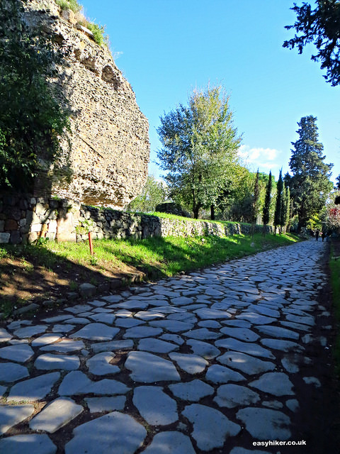 """Via Appia for an autumn city break in Rome"""