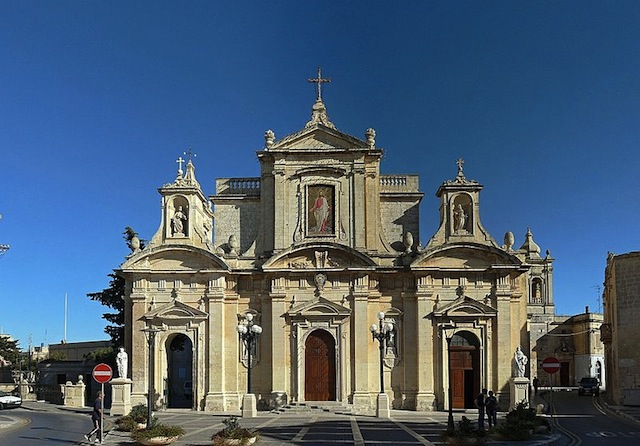 """one of the many churches in Gozo"""