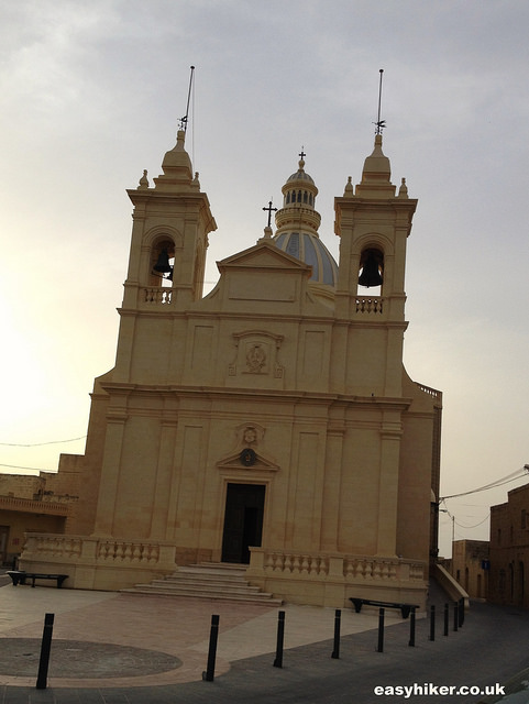 One of the many churches of Gozo: First impressions