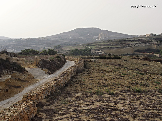 """Along one of Gozo's magnificent seven"