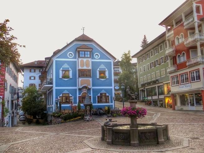 """""""Ortisei in Val Gardena where Hotel Adler Dolomiti, Premier Hiking Hotel in Val Gardena is situated"""""""