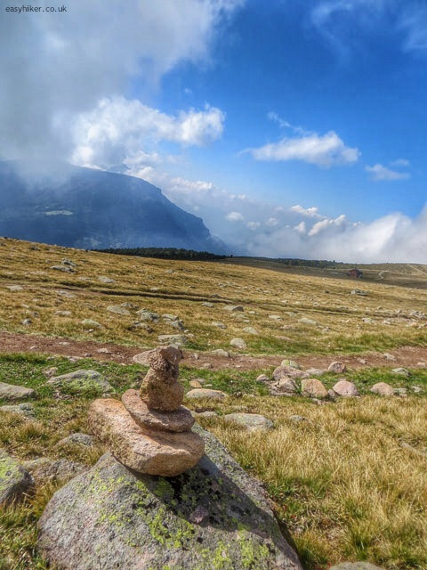 """""""Cairns along a trail in the Dolomites"""""""