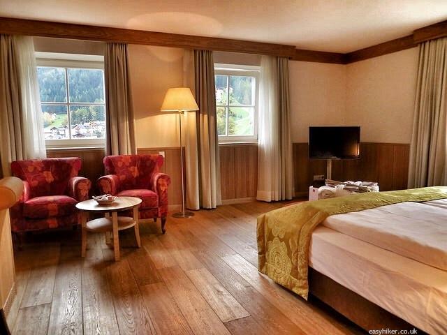 """""""Superior bedroom in Hotel Adler Dolomiti - the Premier Hiking Hotel in Val Gardena"""""""