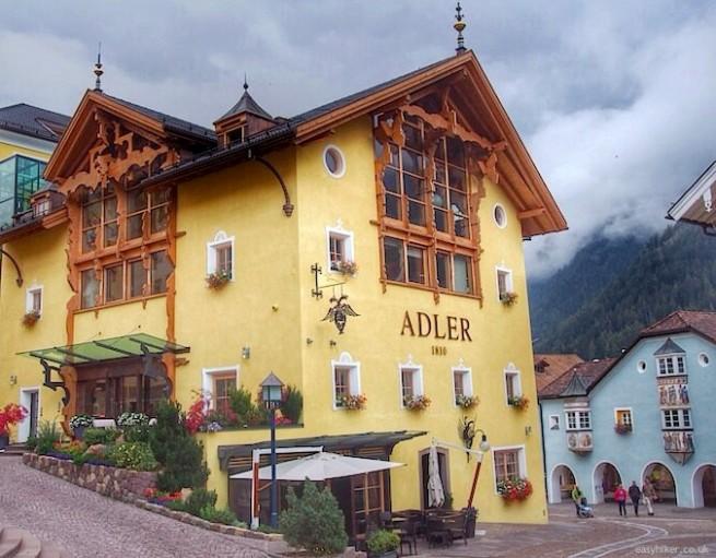 """""""Hotel Adler Dolomiti is the Premier Hiking Hotel in Val Gardena"""""""