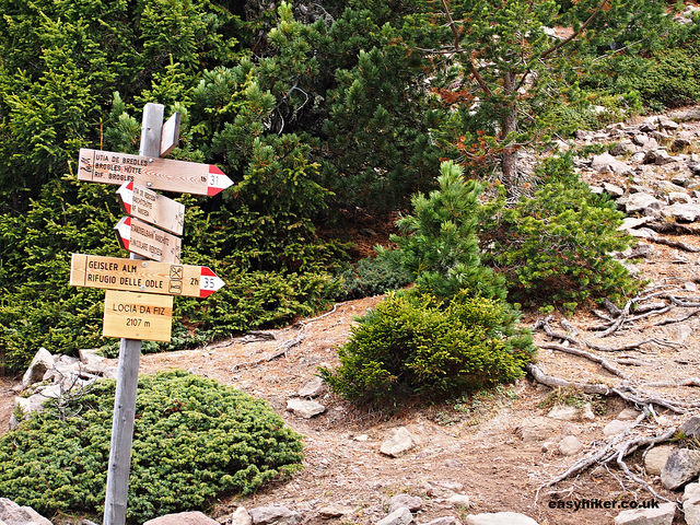 """""""a trail for guided hikes organised by Hotel Adler Dolomiti Premier Hiking Hotel in Val Gardena"""""""