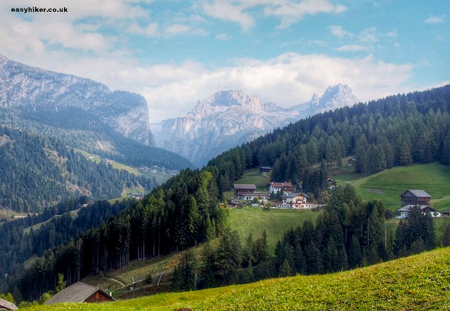 """Dolomites hills are alive on the slopes of Monte Pana"""