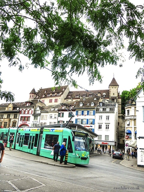 """two hours in Basel"""