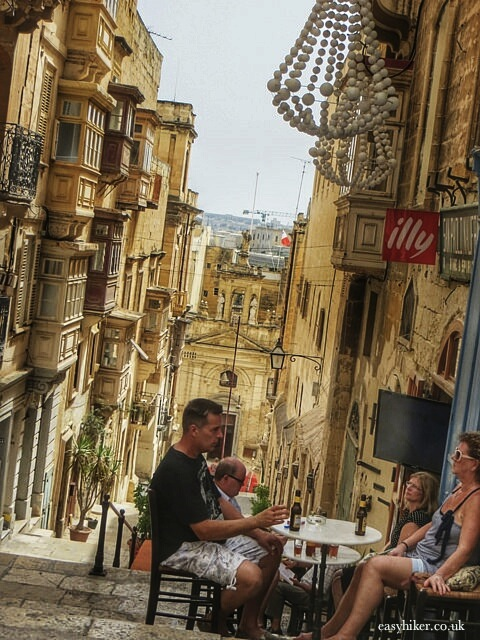 """discover side streets in two hours in Valletta"""