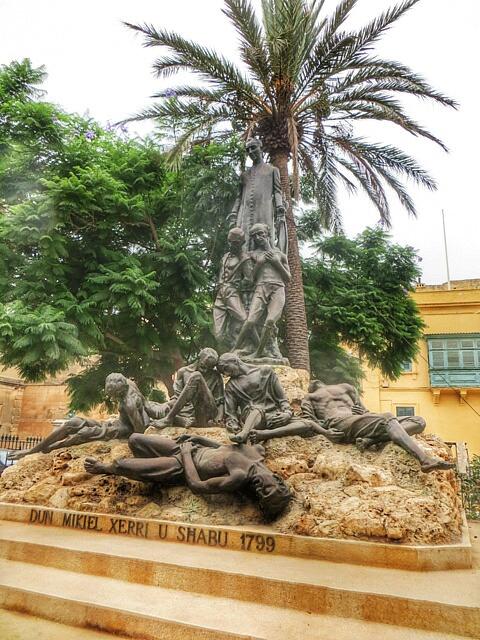 """""""public statues in Valletta Malta"""""""