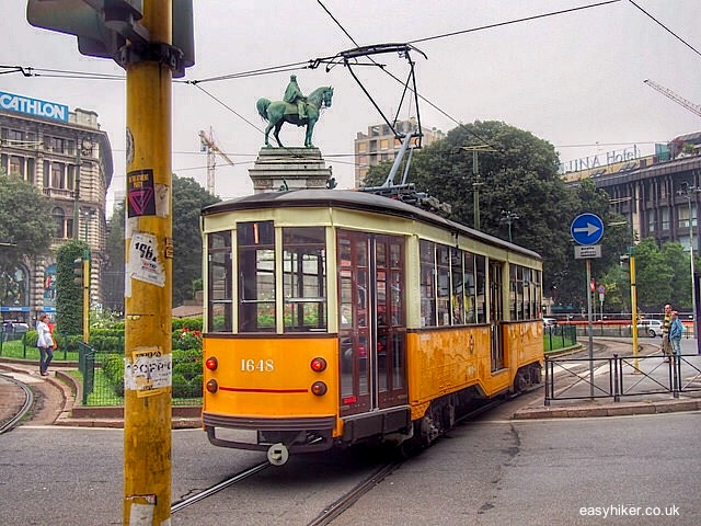 With two hours in Milan, take its tramway around""