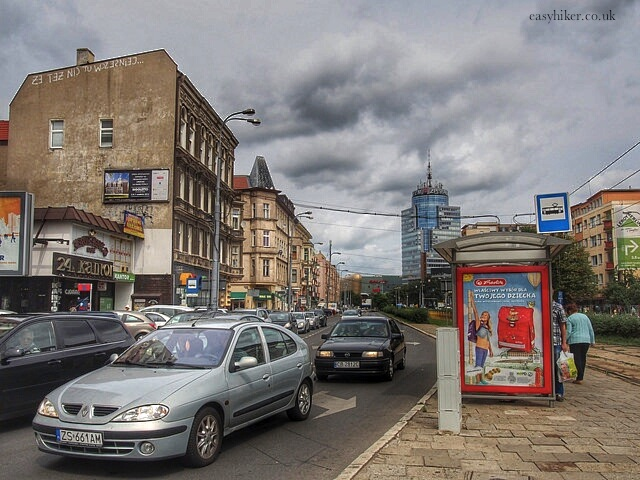 """""""street scene to experience with at least two hours in Szczecin"""""""