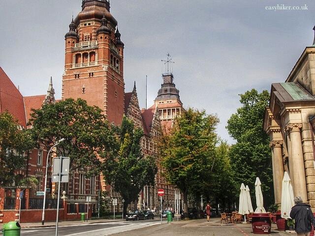 """Administration building of Szczecin"""