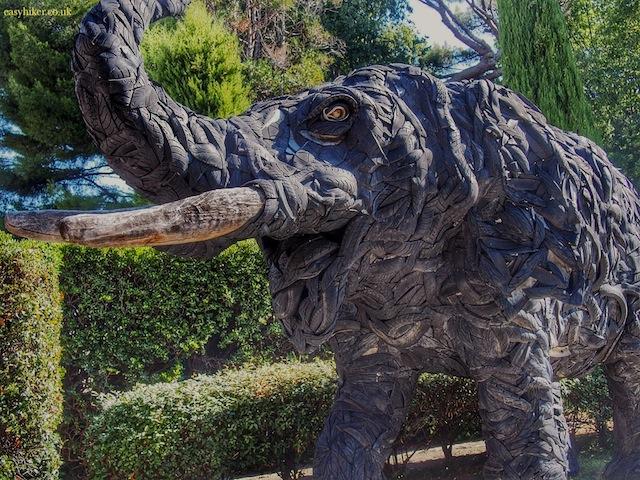 """""""An elephant sculpture in La Napoule"""""""