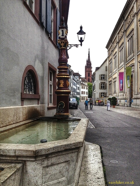 """Spend two hours in Basel to see its side streets"""
