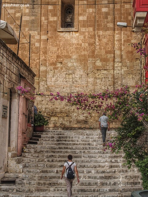 """""""one of the charming stairways of Valletta"""""""