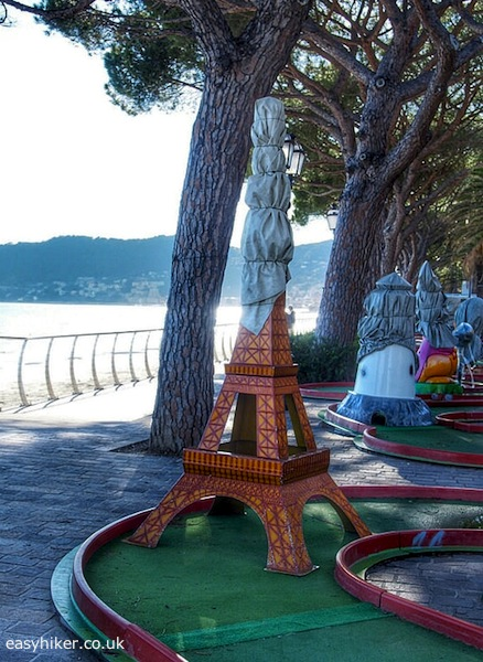 """crazy golf course in Alassio for our Pictorial Journey through 2014"""