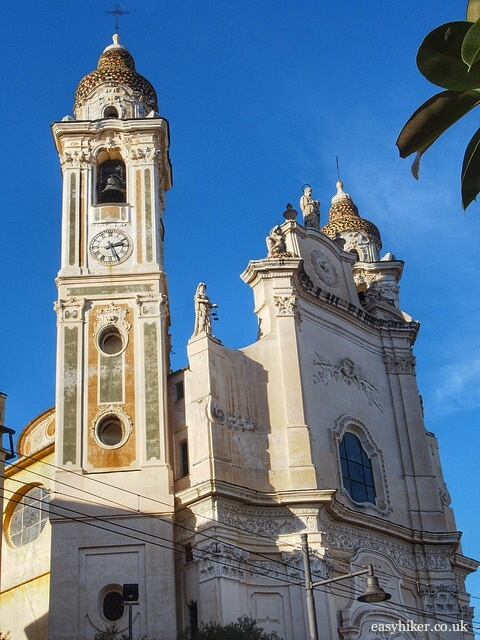 """Cathedral of Laigueglia"""