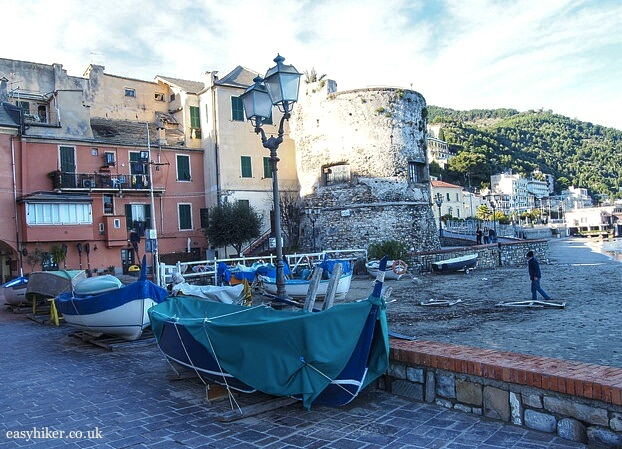 """Fishing boats in Laigueglia"""
