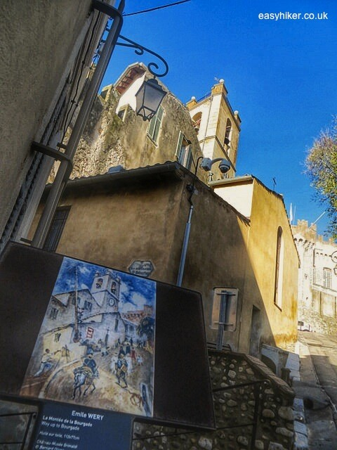 """Riviera on Canvas - Haut de Cagnes cathedral"""