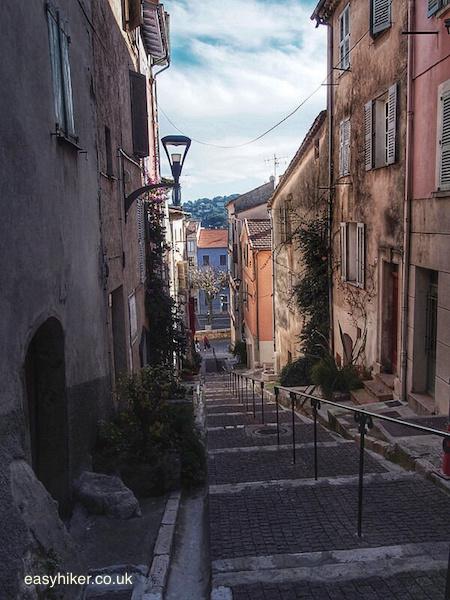 """street in Vallauris"""