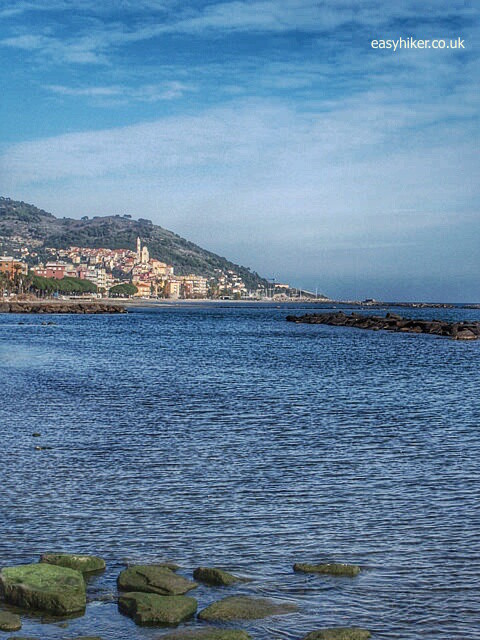 """One of the walks on the Riviera, from Cervo to Diano Marina"""
