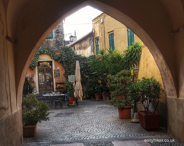 """splendid views of Cervo and its old town"""