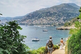 """WALKS IN THE FRENCH RIVIERA"""