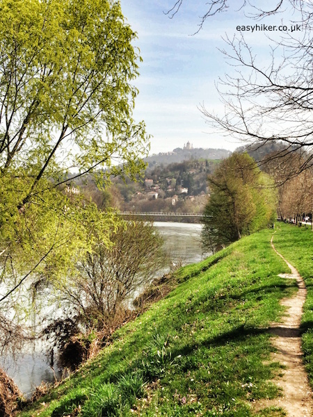 """""""along river Po on a country walk in Turin"""""""