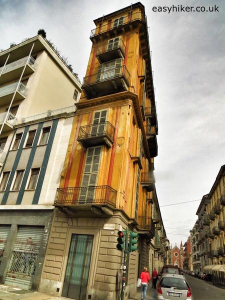 """""""the Slice of Polenta building in Turin"""""""