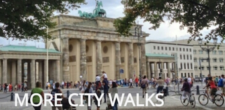 """MORE CITY WALKS"""