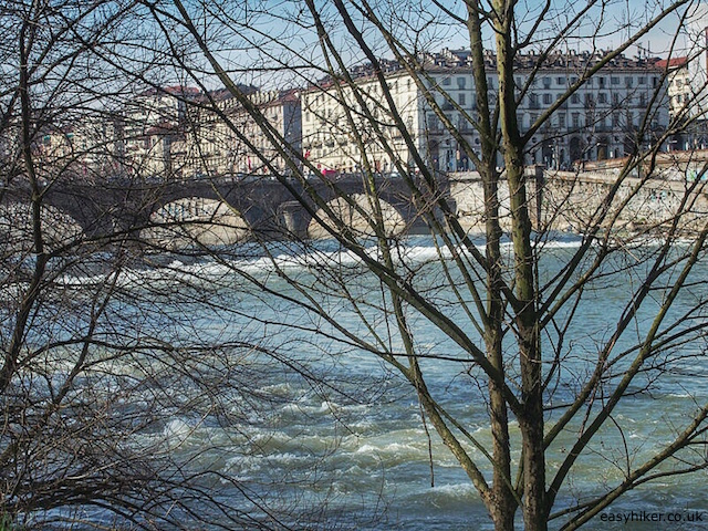 """""""Country walk in Turin by the river Po"""""""