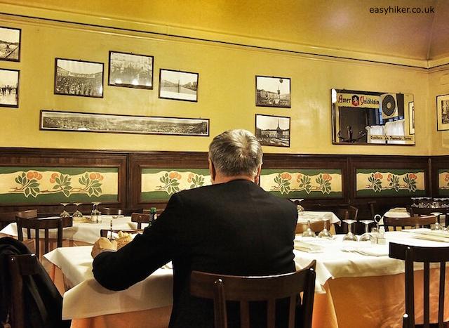 """early dinner at Porto di Savona restaurant in Turin"""