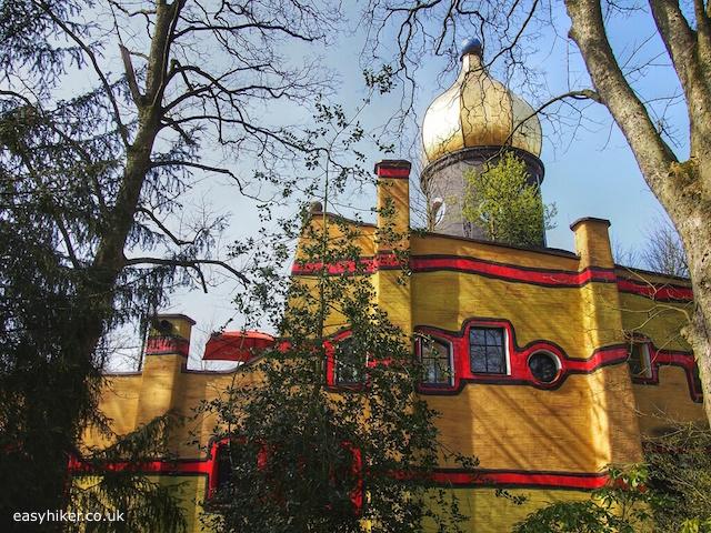 """Building designed by Austrian artist Friedensreich Hundertwasser"""