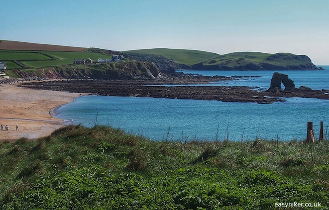 """""""Milton Sands along the South West Coast Path in Thurlestone"""""""