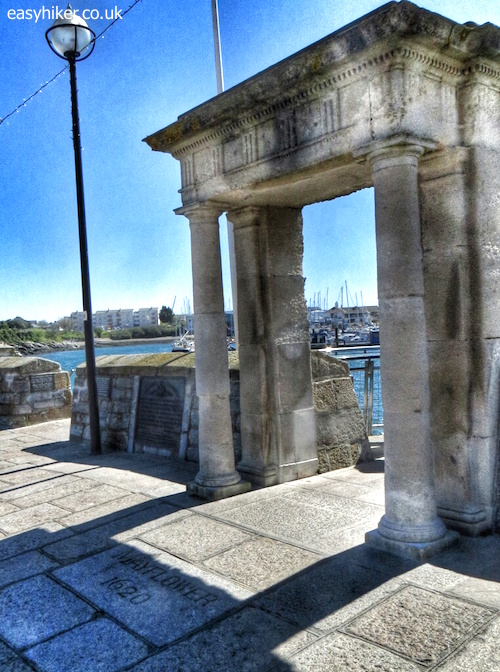 """the Mayfair Steps along the Plymouth Waterfront Walkway"""
