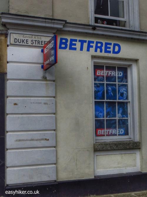 """betting office in Tavistock-Heart of Drake Country"""