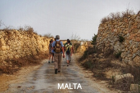 """more easy hiking in Malta"""