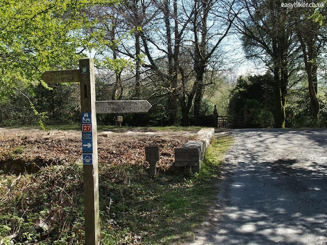 """""""hiking trail in Dartmoor"""""""