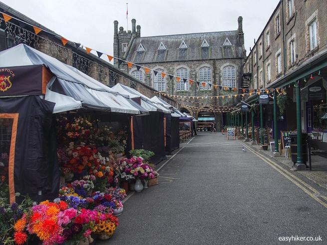 """Town market of Tavistock-Heart of Drake Country"""